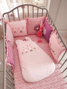#Gigoteuse bébé brodée thème Baby souris - Collection Printemps été 2014 www.vertbaudet.fr