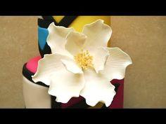 How To Make Gumpaste / Fondant Flower on Wires by CakesStepbyStep - YouTube