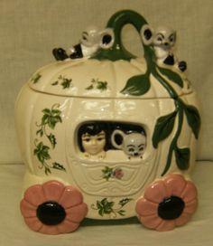 Cinderella Cookie Jar