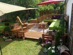 Sublime coin détente dans le jardin...