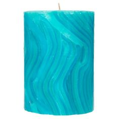 "3"" x 4"" Marbled Pillar Candle"