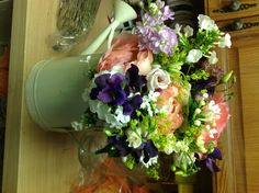 Add phlox and Mothers Choice Peony, rose lisianthus for a relaxed country feel
