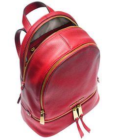 b0387b8cf2ab2 Michael Kors Rhea Zip Small Backpack Handbags   Accessories - Macy s