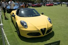 A beauty gone topless, the Alfa 4C Spider is the distillation of sports car essence to its purest modern form.