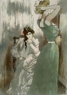 La Toilette - Pierre-Georges Jeanniot, 1910