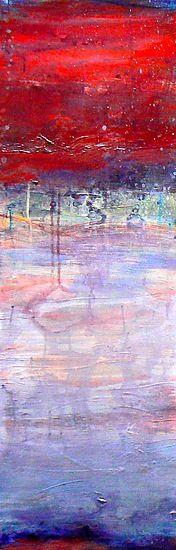 Cherry Creek: Amy Longcope: Acrylic Painting, geweldig voor in de woonkamer!