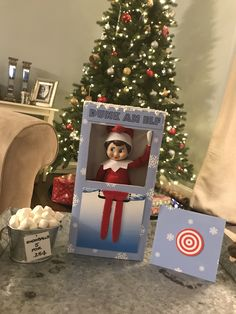 Elf on the shelf dunk tank
