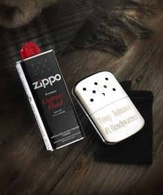 Zippo Hand Warmer Personalized Zippo hand warmers make the perfect gift for the winter outdoorsman. Keep your hands warm while hunting or attending sports events with the Zippo hand warmer. Zippo Hand Warmer, Reusable Hand Warmers, Lighter Fluid, Gift Finder, Good Buddy, Sports Gifts, Groomsman Gifts, Glass Ornaments, Thoughtful Gifts
