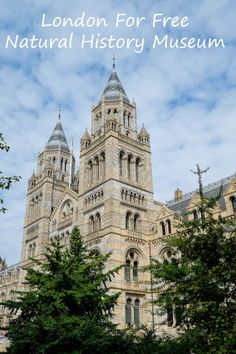A handy guide for families visiting the fabulous Natural History Museum London... And it's free!
