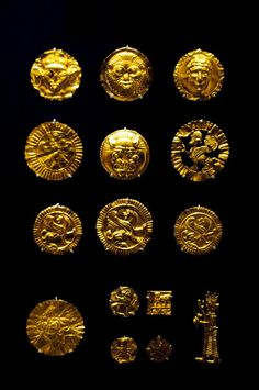 Gold from the Oxus Treasure, 5th-4th century BC. The Oxus treasure is a collection of 170 gold and silver items from the Achaemenid Persian period which were found by the Oxus river. Photo taken by Nickmard at the British Museum, London