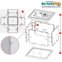 4M Kidz Labs Spy Science Money Safe Build Your Own Super Secure Security Alarm Buzzer Combination Key Lock Secret Agent Kids Toy 3289 3784