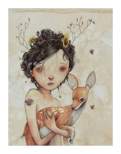 Image of She Is The Light limited edition print
