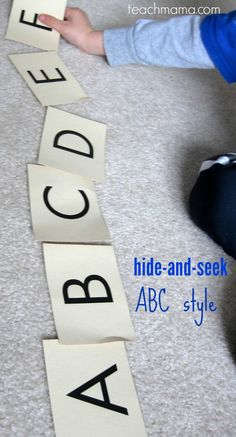 hide and seek abc |