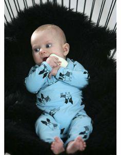 Light blue Barca bodysuit - Graphic Baby