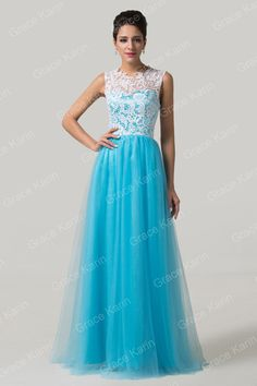 USD 44.52  [USD 28.22 http://www.aliexpress.com/store/product/New-Arrival-Beautiful-Tulle-Long-Prom-Dress-White-Green-Yellow-Purple-Evening-Dresses-Formal-Gown-CL6108/808933_2019254184.html; http://www.promgarden.com/Prom-Dresses/Blue; USD 140 http://www.tonypromdresses.com/2015-Romantic-Scoop-A-Line-Floor-Length-Prom-Dress-Tulle-With-White-Lace]