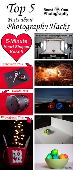 Top 5 DIY Photography Hacks | Boost Your Photography