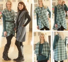 Inspiration to make and wear Indygo Junction's 5-Way Wrap sewing pattern. $11.99