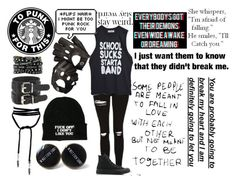"""I'm Rather Broken"" by choice-to-be ❤ liked on Polyvore featuring Topshop, High Heels Suicide, Love Quotes Scarves, Aspinal of London and Converse"