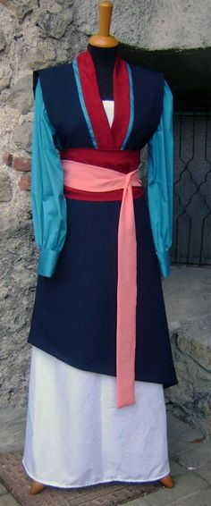 Mulan Disney princess costume cosplay by liliemorhiril on Etsy