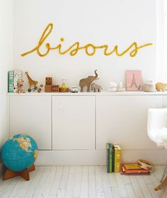 DIY: Wired Word for Your Wall