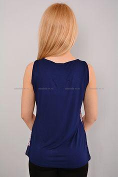 Майка Г3205 Размеры: 46 Цена: 345 руб.  http://odezhda-m.ru/products/majka-g3205  #одежда #женщинам #майки #одеждамаркет