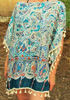 Poncho elegante de mujer - 12,,90€ - CMK Cover Up, Beach, Dresses, Fashion, Beach Outfits, Elegant, Women, Vestidos, Moda