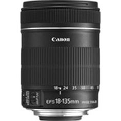 Canon - Canon EF-S 18-135mm f/3.5-5.6 IS  Standard Zoom Lens for Canon Digital SLR Cameras