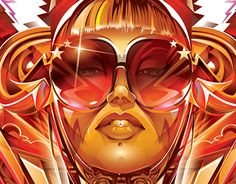 """Check out this @Behance project: """"Adobe Illustrator CC2014 - VENUS REVISITED""""…"""