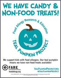Teal Pumpkin Project™ - Food Allergy Research & Education