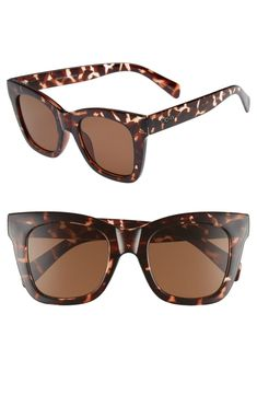 Slightly winged temples add a dose of modern drama to full-coverage square sunglasses that instantly up your style game. Style Name:Quay Australia After Hours Square Sunglasses. Style Number: Available in stores. Mirrored Aviator Sunglasses, Polarized Aviator Sunglasses, Kids Sunglasses, Women's Sunglasses, Kai, Glasses For Your Face Shape, Southern Fashion, Southern Style, Heart Shaped Sunglasses