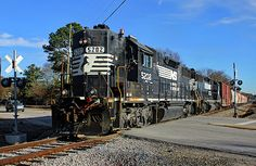 A crew out of Columbia, South Carolina is in charge of local train Norfolk Southern in nearby Cayce on the old Southern Railway V Line Southern Railways, Railroad Photography, V Lines, Norfolk Southern, Digital Photography, South Carolina, Columbia, Joseph, Badass