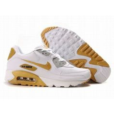 #Nike #sports Nike Air Max Shoes, Nike Mens Shoes Buy Nike Air Max 90 Mens White Gold 69