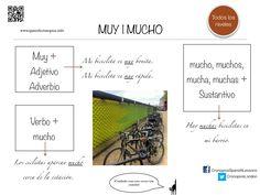 A1 - Muy, Mucho, Mucho/a/os/as.