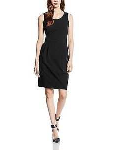 8, Black - Schwarz (Black 0790), More & More Women's Kleid 1-tlg. Kurz Kim Dress