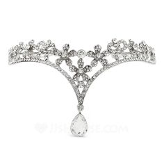 Forehead Jewelry Wedding Special Occasion Outdoor Party Rhinestone Alloy 10.63