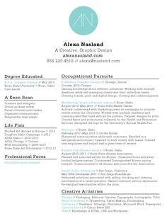 resume design.
