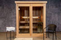 Cascade 4 Person Sauna - Almost Heaven Saunas Red Cedar Lumber, Sauna Accessories, Sauna Heater, Traditional Saunas, Steel Bucket, Stone Accent Walls, Sauna Room, Stainless Steel Hinges, Window Sizes