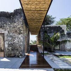 « Niop Hacienda, Mexico AS arquitectura & R79 Photo: David Cevera Castro #architecture #design #stone #steel #wood #concrete #mexico »