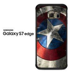captain america logo Samsung Galaxy S7 Edge Case