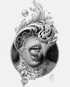 Dark Realism Tattoo Sleeve 39 New Ideas Dark Tattoo, Big Tattoo, Tattoo Ink, Tattoo Sketches, Tattoo Drawings, Diy Halloween Dekoration, Filigree Tattoo, Totenkopf Tattoos, Desenho Tattoo