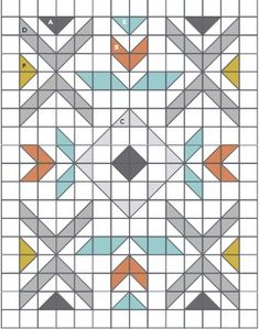 PressReader com - Connecting People Through News Motif Navajo, Southwestern Quilts, Indian Quilt, Barn Quilt Patterns, Modern Quilt Patterns, American Quilt, Patchwork Quilting, Barn Quilts, Paper Piecing