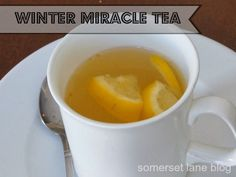 Winter Miracle tea