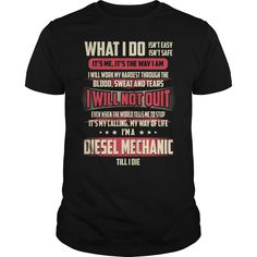Diesel Mechanic Job Title - What I do