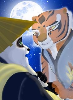 Kung fu panda - Po and Tigress - I miss you by Miranh on DeviantArt Po Kung Fu Panda, Po And Tigress, Master Shifu, New Movies Coming Out, Dragon Warrior, Jeff The Killer, Dreamworks Animation, Disney Dream, The Incredibles