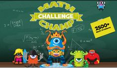 Math Champ Challenge (Common Core Standards) is the latest educational game from award winning INKids Education. It is designed to help strengthen understanding of Common Core mathematical standards for middle school students (grades 4-7).