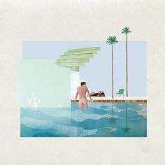 Visualising Hockney through Mies | on KooZA/rch