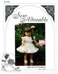 Sew Adorable 18 American Girl Doll Clothes by TheRoseGarden416