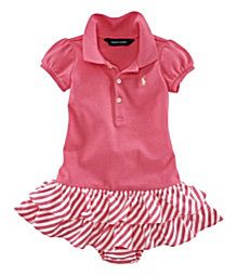 Cutest infant girl outfit (and it's even ralph lauren)