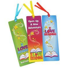 I Love Reading Bookmarks