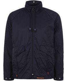 the latest 8e4f7 f416f FOLK Navy Nylon Rain Jacket Liberty Print, Nike Jacket, Rain Jacket,  Branding Design